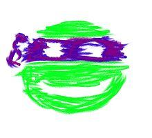 Donatello TMNT graffiti  by Laststation