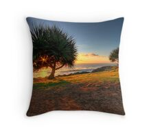 Shining Star Hidden Sun Throw Pillow