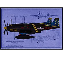Hard Luck - F-82F Twin Mustang Photographic Print