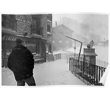 Snowstorm in Andorra Poster