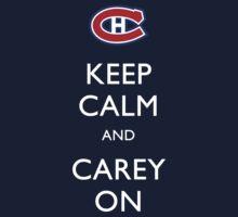 Keep Calm & Carey On One Piece - Short Sleeve