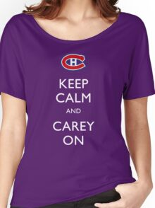 Keep Calm & Carey On Women's Relaxed Fit T-Shirt