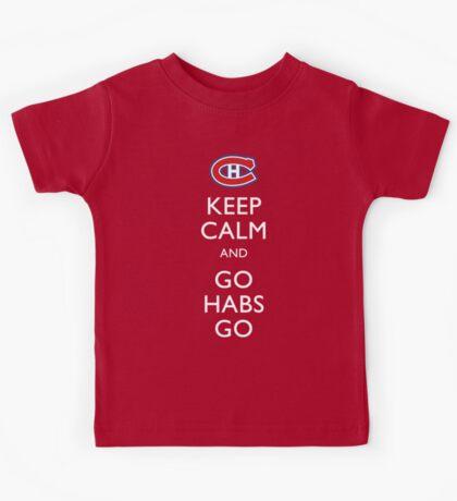 Keep Calm & Go Habs Go Kids Tee