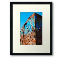 Rusty Hull Framed Print