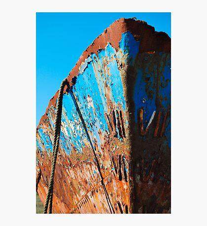 Rusty Hull Photographic Print