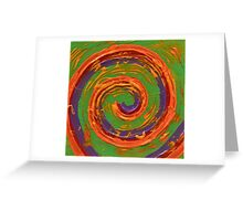 Celebration by Holly Cannell a Colorful Swirl Greeting Card