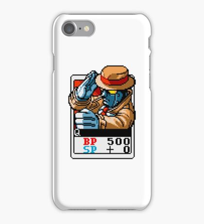 Q - Street Fighter iPhone Case/Skin