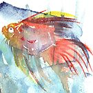 Fish face  by conniecrayon