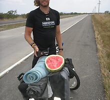 One man give me watermelon by Rune Monstad