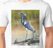 Louisiana Heron Unisex T-Shirt