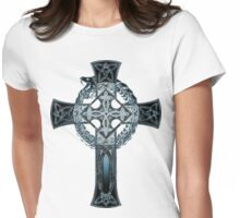 Crossed Ouroboros v.2 Womens Fitted T-Shirt