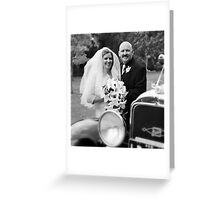 Bride & Groom #1 Greeting Card