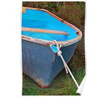 Little Blue Boat Poster