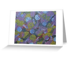 Web of Life by Holly Cannell - Abstract Greeting Card