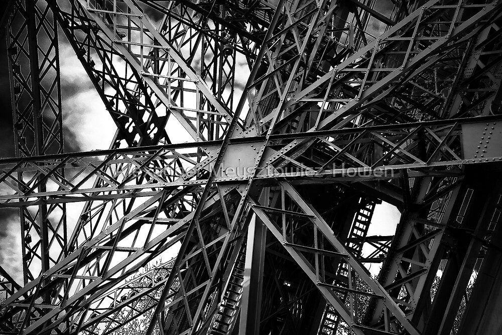 Eiffel Tower structure by Alexander Meysztowicz-Howen