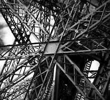 Eiffel Tower structure by Alex Howen