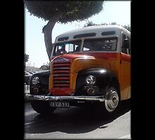Classic Maltese Bus by Marksman