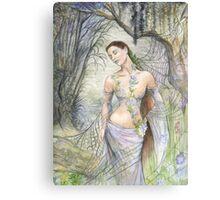 Mistress of the Web Canvas Print