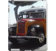 Classic Maltese Bus iPad Case/Skin
