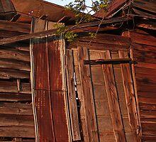 hay loft door by g richard anderson