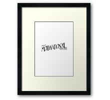 Insert Motivational Quote - Parody Framed Print