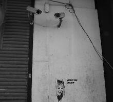 Watch me if you can by Nikolas Zagalak