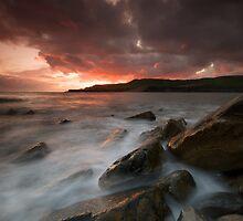 Fiery sky Milky Sea 2 by stephen foote