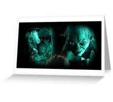 The Lord of The Rings Cyan Greeting Card