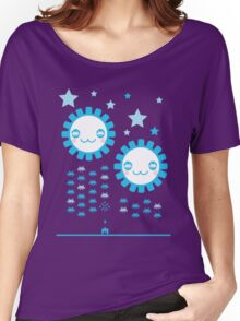 Space Invaders JR Women's Relaxed Fit T-Shirt