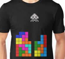 Tetris Invasion Unisex T-Shirt