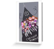 Cartoon Rompus - Shadows Greeting Card