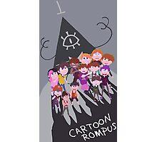 Cartoon Rompus - Shadows Photographic Print