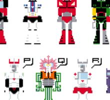 Transformers Alphabet Sticker