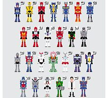 Transformers Alphabet by Sergey Vozika