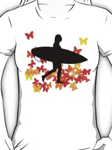 Butterfly surf - Wave rider  T-Shirt