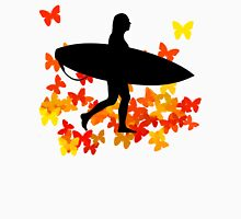 Butterfly surf - Wave rider  Womens Fitted T-Shirt