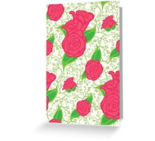 Rose Floral Greeting Card