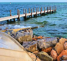 Shark Bay Jetty by Rochelle Boardman