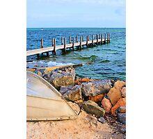 Shark Bay Jetty Photographic Print