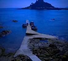 From Marazion to Saint Michael's Mount by Moonlet