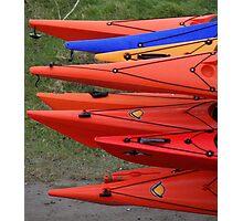 Canoes Photographic Print