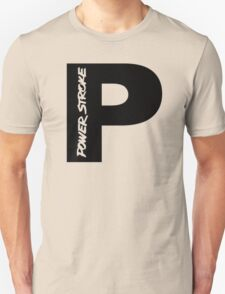 PowerStroke Black Unisex T-Shirt