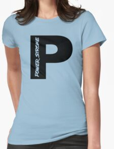 PowerStroke Black Womens T-Shirt