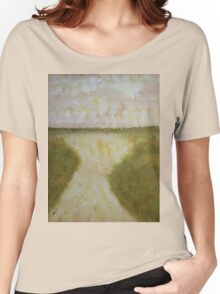 Lowcountry Marsh original painting Women's Relaxed Fit T-Shirt
