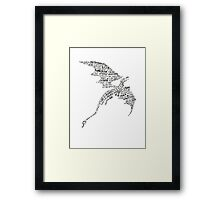 Smaug - Lonely Mountain Song Framed Print