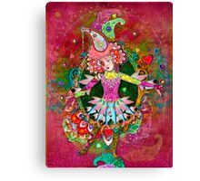 Purveyor of Pranceitude Canvas Print