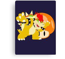Super Smash Bros Bowser Canvas Print