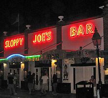 Sloppy Joe's Bar In Key West Florida by Memaa