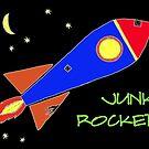 Junk Rocket (color logo) by Bill Ackerbauer