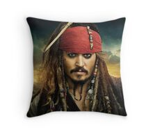 All aboard the Black Pearl!  Throw Pillow